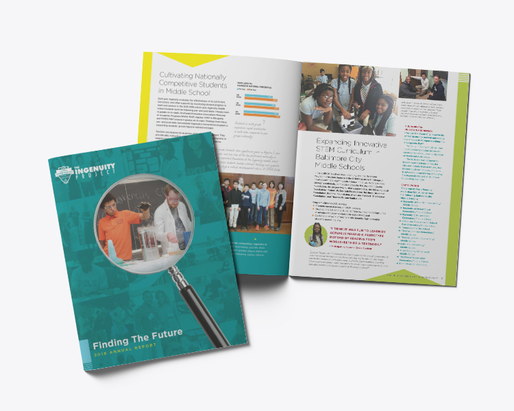 Ingenuity Project Annual Report