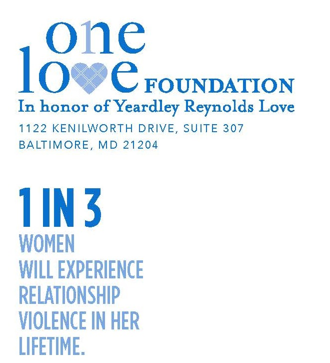 This envelope Redstart Creative did for the One Love Foundation, included a fact about issue the organization works to address to encourage people to read thier message.