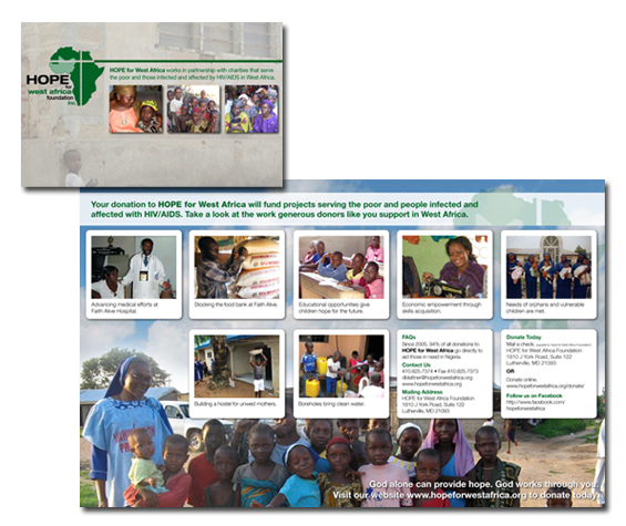 Hope For West Africa Brochure