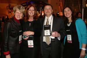 Me and some of my fellow host committee members Julie Cox, Gen Haines and Mark Potter