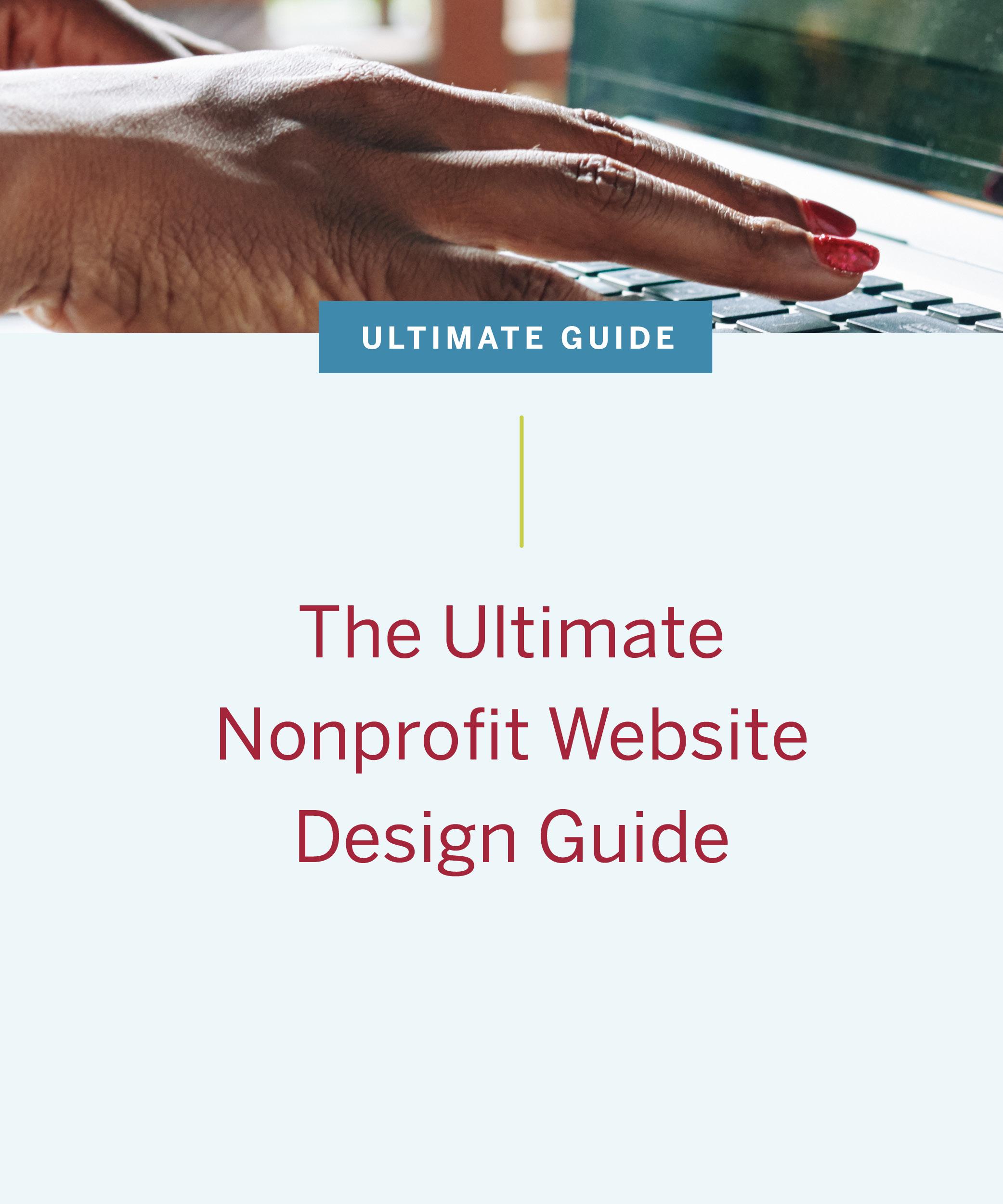 nonprofit website guide