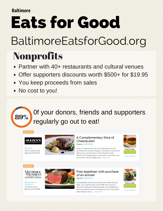 Baltimore Eats for Good